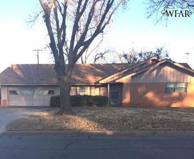 Burkburnett Single Family Home For Sale: 801 Aztec Drive
