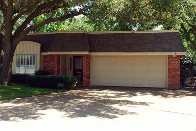 Wichita Falls Single Family Home For Sale: 3a Newcomb Terrace