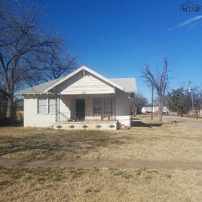 Wichita Falls Multi Family Home For Sale: 1614 Lucile Avenue