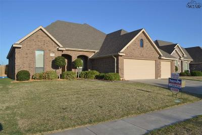 Wichita County Single Family Home For Sale: 5408 Tanner Drive