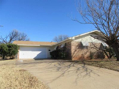 Wichita Falls Single Family Home For Sale: 1515 Parkdale Drive