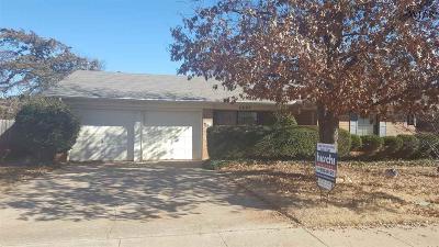 Wichita Falls Single Family Home For Sale: 4607 Hollandale Avenue
