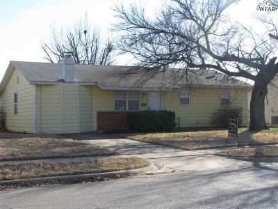 Wichita Falls Single Family Home For Sale: 4713 Bonny Drive