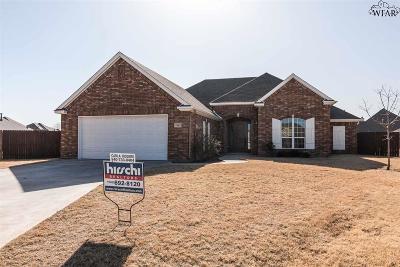 Wichita Falls Single Family Home For Sale: 2 Goldenrod Court