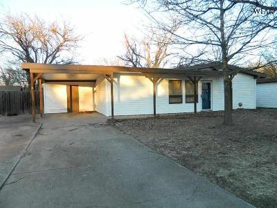 Wichita Falls Single Family Home For Sale: 4112 McGaha Avenue