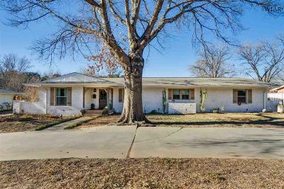 Wichita Falls Single Family Home Active W/Option Contract: 3512 Juniper Lane
