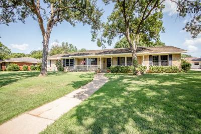 Wichita Falls Single Family Home Active W/Option Contract: 1630 Christine Road