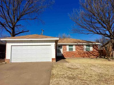 Wichita Falls Single Family Home For Sale: 4602 Lindale Drive