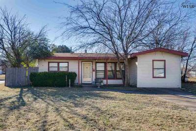 Wichita Falls Single Family Home For Sale: 2907 Moffett Avenue