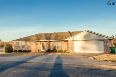 Wichita Falls Single Family Home For Sale: 117 Royal Road