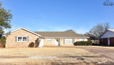Wichita Falls Single Family Home For Sale: 4210 Kingsbury Drive