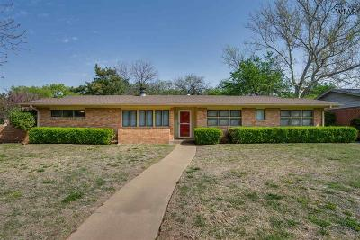 Wichita Falls Single Family Home For Sale: 2416 Fain Street