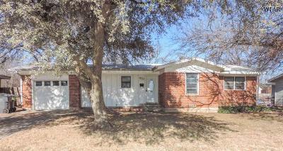 Wichita Falls Single Family Home For Sale: 4408 Westward Drive