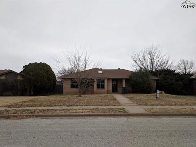 Wichita Falls Single Family Home For Sale: 3 McNabb Circle