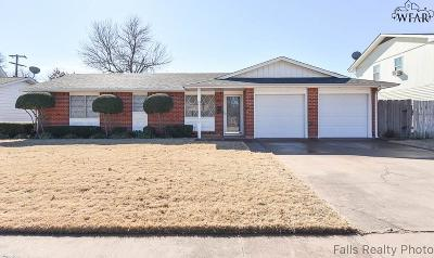 Wichita Falls Single Family Home For Sale: 5305 Pyrenees Drive