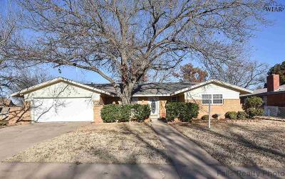 Wichita Falls TX Single Family Home Active-Contingency: $139,900