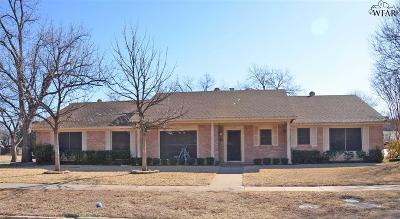 Wichita Falls Single Family Home For Sale: 1401 Tilden Street