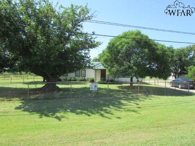 Wichita County Single Family Home For Sale: 1421 State Highway 79 North