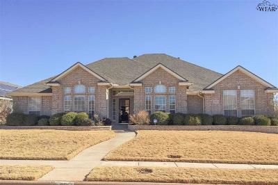 Wichita Falls Single Family Home For Sale: 4913 Legacy Drive