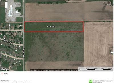 Wichita County Residential Lots & Land For Sale: Texowa Road