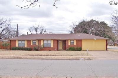 Wichita County Single Family Home Active W/Option Contract: 5115 Catskills Drive