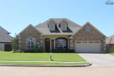 Wichita Falls Single Family Home For Sale: 1729 Woodridge Drive