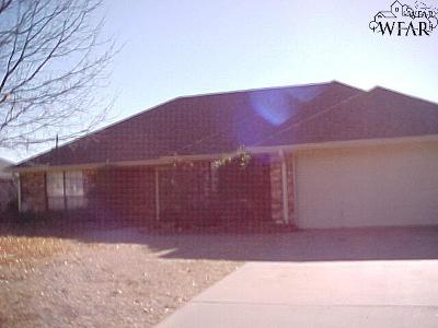Wichita County Rental For Rent: 829 Arapaho Drive