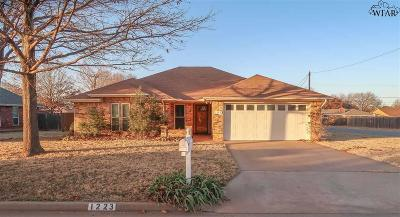 Burkburnett Single Family Home For Sale: 1223 Parliament Street