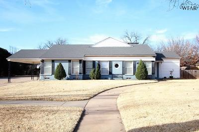 Wichita Falls Single Family Home For Sale: 3308 Cumberland Avenue