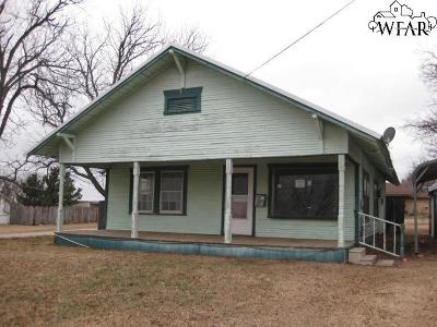Henrietta Single Family Home Active W/Option Contract: 615 S Archer Street