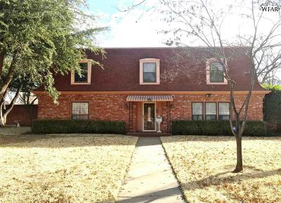 Wichita Falls Single Family Home For Sale: 3503 Glenwood Avenue