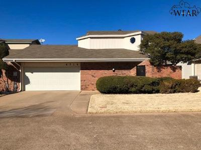 Wichita Falls Single Family Home For Sale: 4714 Tortuga Trail