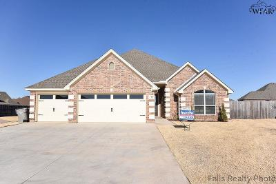 Wichita Falls Single Family Home For Sale: 10 Prairie Lace Court