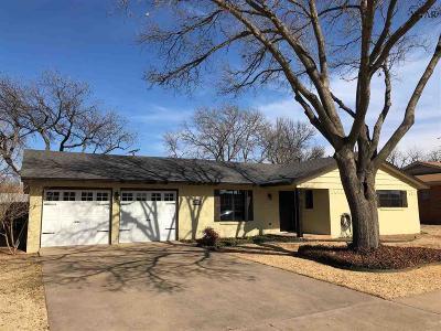Wichita Falls TX Single Family Home For Sale: $157,900