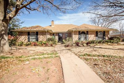 Wichita Falls Single Family Home For Sale: 4307 Craigmont Drive