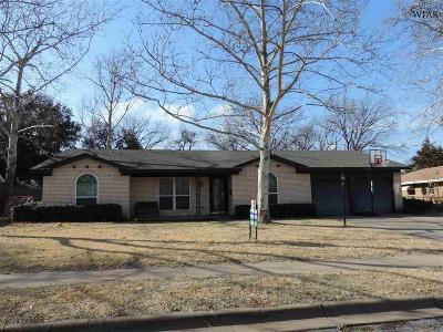 Wichita Falls TX Single Family Home For Sale: $178,000