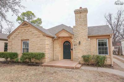 Wichita Falls TX Single Family Home For Sale: $145,000