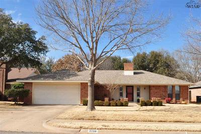 Wichita Falls Single Family Home For Sale: 2710 Shepherds Glen