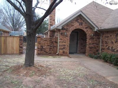 Wichita County Rental For Rent: 3407 Nottinghill Lane