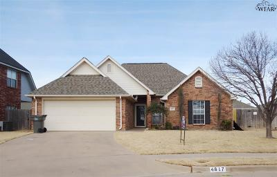 Wichita Falls Single Family Home For Sale: 4817 Olympic Drive