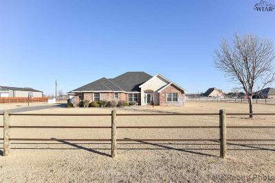 Wichita Falls Single Family Home Active W/Option Contract: 2051 River Creek Estates