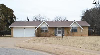Wichita Falls Single Family Home For Sale: 3 Rene Circle