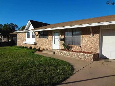Wichita County Rental For Rent: 1316 Emma Drive