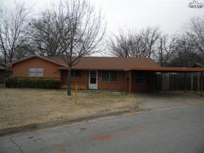Burkburnett Single Family Home For Sale: 206 Westwood Drive