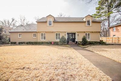 Wichita Falls Single Family Home For Sale: 2109 Berkeley Drive