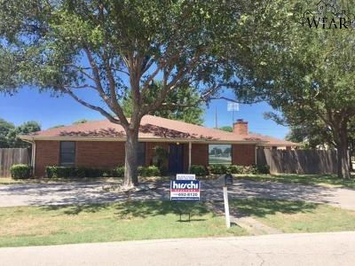Wichita Falls Single Family Home Active W/Option Contract: 200 Clipper Lane