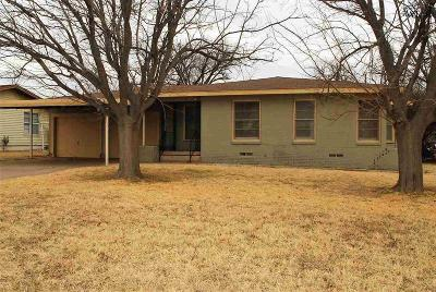 Wichita Falls Single Family Home For Sale: 4106 Phillips Street