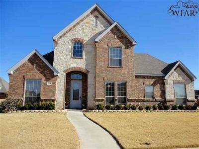 Wichita Falls Single Family Home For Sale: 5600 Ross Creek Lane
