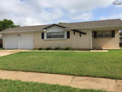 Wichita Falls Single Family Home For Sale: 4120 Thelma Circle
