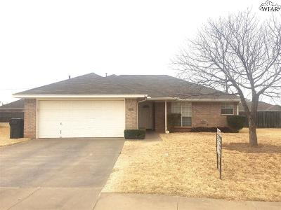 Wichita Falls Single Family Home For Sale: 5419 Ricci Street